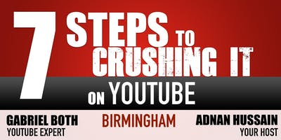"""7 Steps To \""""Crushing It\"""" On YouTube & Create Multiple Passive Income Streams"""