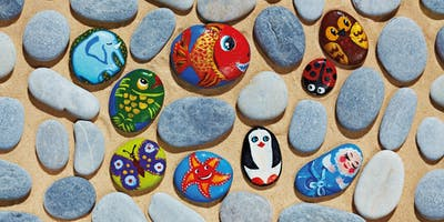 Stone Painting Workshop 2.20-3.20pm