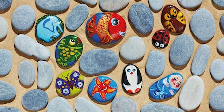 Stone Painting Workshop 3.30-4.30pm tickets