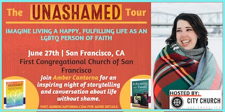 UNASHAMED BOOK TOUR: An Evening with Amber Cantorna tickets