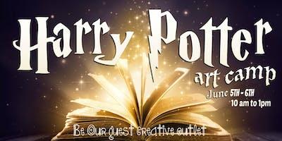 Harry Potter Art Camp June 5-6