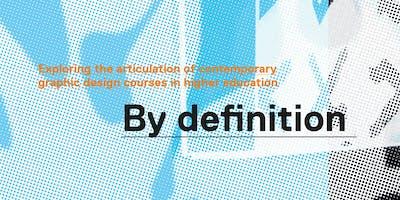 By Definition – GDEN Spring Symposium 2019