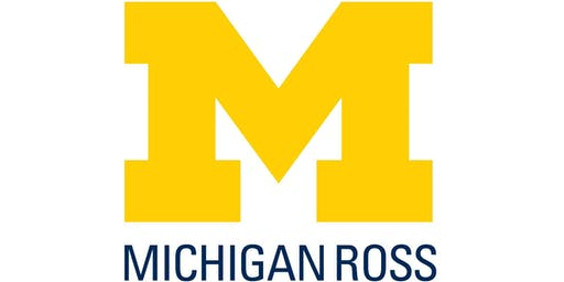 Michigan Ross Part Time MBA Information Session 10-15-19