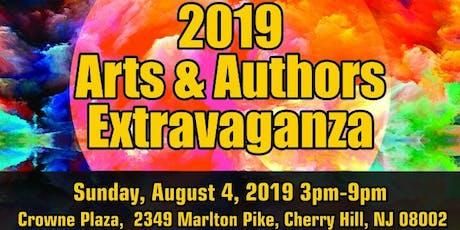 2019 Arts & Authors Extravaganza tickets