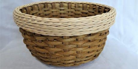 Smoked Round Basket with Gretchen Rim tickets