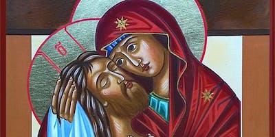 Alina Smolyansky Workshop - Easter Icon Painting