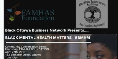 Black Mental Health Matters: Community Conversation Series #BMHM