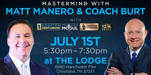 Monster Mogul, Tycoon, & 25K Mastermind with Matt Manero