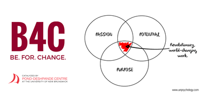 BE.FOR.CHANGE: Passion + Purpose Workshop