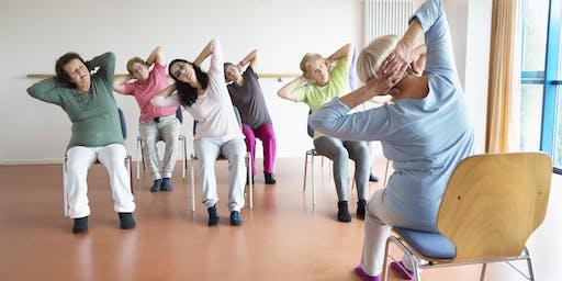 Chair Yoga (£5 drop in)
