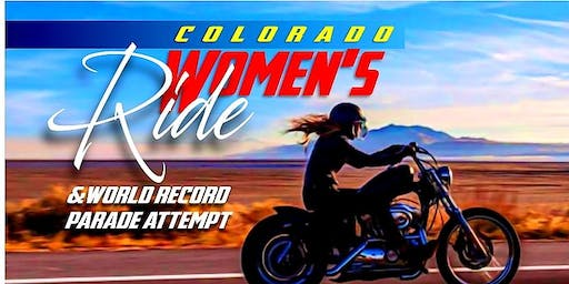 Colorado Women Ride/ World Record/Parade Attempt