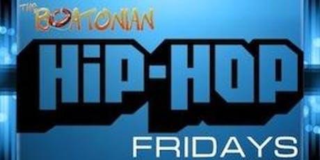 The Boatonian - Hip Hop Fridays tickets