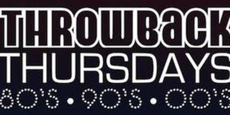 The Boatonian - Throwback Thursdays tickets