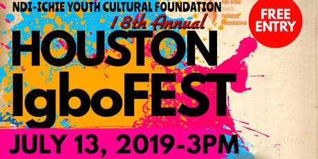 IGBOFEST HOUSTON tickets