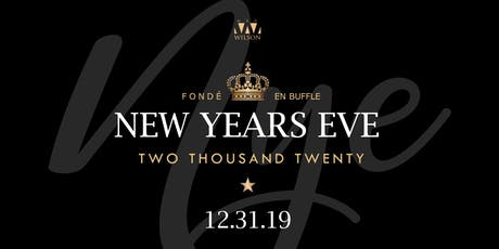 NYE 2020 tickets
