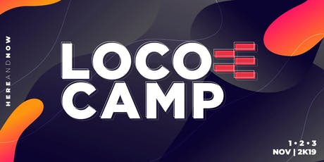 LOCOMOTIVACAMP 2019 ingressos