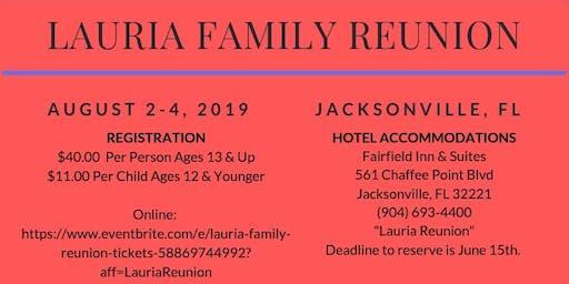 Lauria Family Reunion