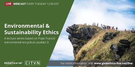 Globethics-CITVN Webcast Series: Environment & Sustainability tickets