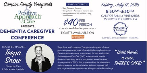 Teepa Snow - Dementia Caregiver Conference for Professional & Family Caregivers
