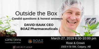 Outside the Box with David Isaak CEO of BOAZ Pharmaceuticals