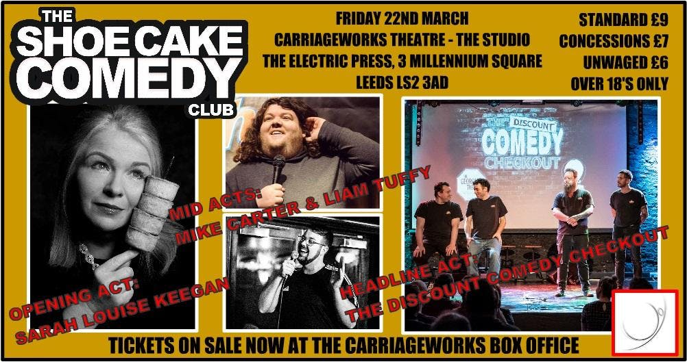 LIMITED OFFER - New Comedy Night - Leeds Frid
