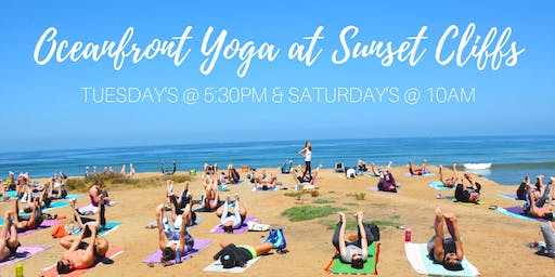Oceanfront Yoga at Sunset Cliffs (Donation-based)