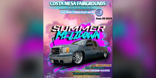 Summer meltdown truck show