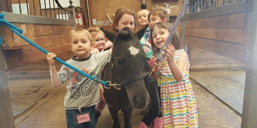 Little Wranglers: Barnyard Roundup Camp - Morning Session, Ages 4-8, $120