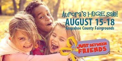 FREE ADMISSION! JBF Aurora Fall 2019