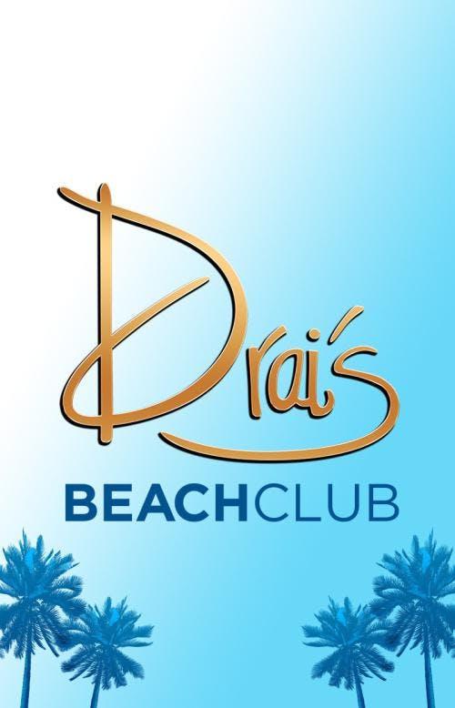 Drai's Beach Club FREE GUEST LIST: PAULY D