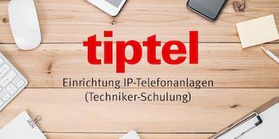 tiptel 8010, Einrichtung IP-Telefonsystem (Grundla