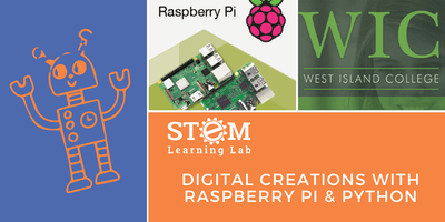 WIC: Digital Creations with Raspberry Pi & Python (Ages 11-17)