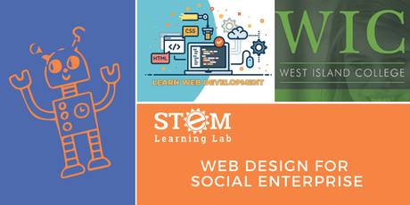 WIC: Web Design for Social Enterprise (Ages 12-17) tickets