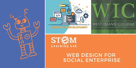 WIC: Web Design for Social Enterprise (Ages 12-17) tickets