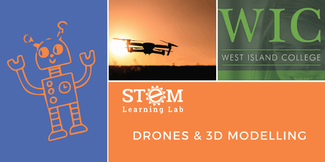 WIC: Drones and 3D Modelling (Ages 14-17) tickets