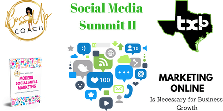 Social Media Summit II Workshop tickets