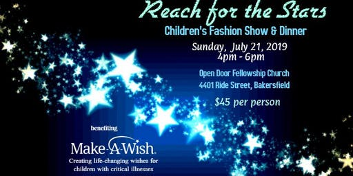 Reach for the Stars- Benefiting Make-A-Wish foundation