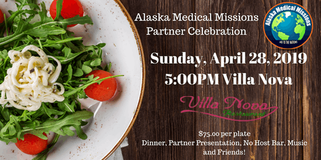 Alaska Medical Missions Partner Celebration Tickets
