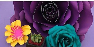 Paper Flowers Workshop - For Beginners