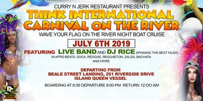 INTERNATIONAL CARNIVAL ON THE RIVER!!!! Wave Your  Country Flag