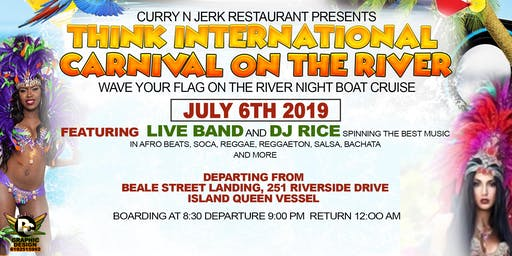 INTERNATIONAL CARNIVAL ON THE RIVER!!!! Wave Your  Country's Flag