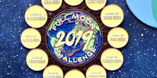 The 2019 Full Moon Running and Walking Challenge - Tucson