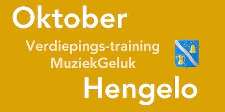 Verdiepings-Training MuziekGeluk in Hengelo tickets