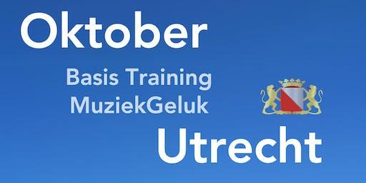 Oktober Training MuziekGeluk is een geaccrediteerde V&V scholing met 5 punten