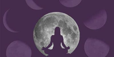 Chandra (Moon) Yoga and Gong Bath Meditation - A Quiet Celebration