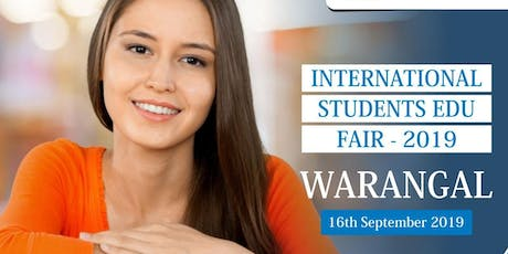 International Students Education Fair - Sep 2019 ,Warangal tickets