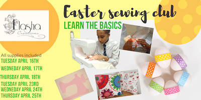 Kids Easter Sewing Camp