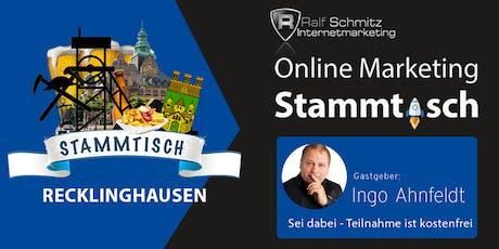 Onlinemarketing-Stammtisch Ruhrgebiet Tickets