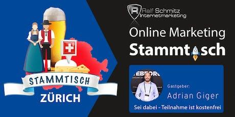 Onlinemarketing-Stammtisch Zürich Tickets