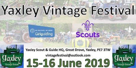 Yaxley Vintage Festival tickets